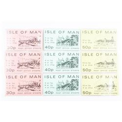 Group of Isle of Man - Post Office Stamps 30P