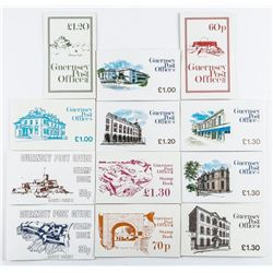 Lot - Guernsey Post Office Retail, Stamp  Book, 30p, Original Issues