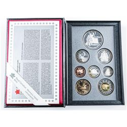 RCM 1997 - Proof Coin Set Sterling Silver  Hockey Dollar