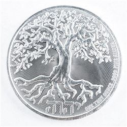 .9999 Fine Silver $2.00 Coin 'Tree of Life'