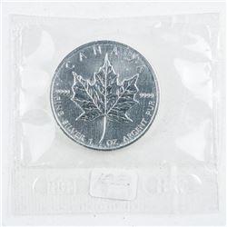 RCM 2003 .9999 Fine Silver Maple Leaf Sealed  in Original Mint Wrap.