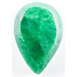 Loose Pear Cut Emerald (8.95CT). TRRV:  2680.00