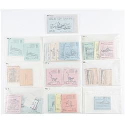 Estate Lot - Jersey Postage Stamps, Retail  Bookles