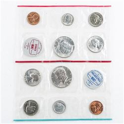 Lot (2) USA 1964 Mint Sets