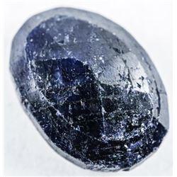 Loose Gemstone (11.66ct) Oval Cut Blue  Sapphire. trrv: $3470.00
