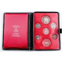 RCM 1973 Prestige Specimen Coin set, Leather  Case. RCMP