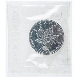 RCM 2000 - Maple Leaf Coin 5.00 with  Fireworks Privy