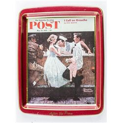 Saturday Eve. Post Tray May 25, 1957 - 15  cents