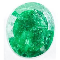 Loose Oval Cut Emerald (11.21ct). TRRV:  3360.00