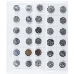 Lot (30) Canada 5 Cents etc