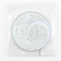 Estate Sterling Silver Mothers Day Medal