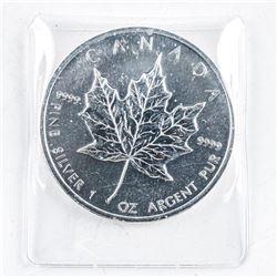 RCM .999 Fine Silver $5.00 Coin 2010 Maple Leaf