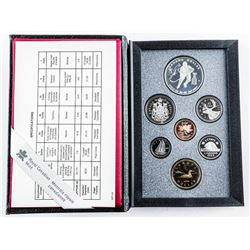 1993 RCM Proof Set with Silver