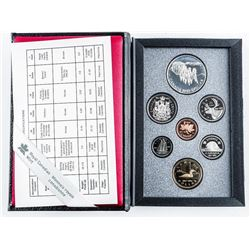 1992 RCM Proof Coin Set with Silver