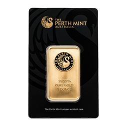 .9999 Fine Gold 1oz Bar. Australian Mint. Collector Bullion.