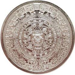 Aztec Calendar 1oz. .999 Fine Silver Coin. Collector Bullion.