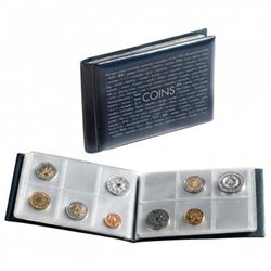 Brand New - Numismatic Coin Binder for 48 Coins.