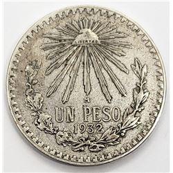1932 MEXICO UN PESO
