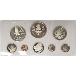 1974 CAYMAN ISLAND 8 PIECE PROOF SET