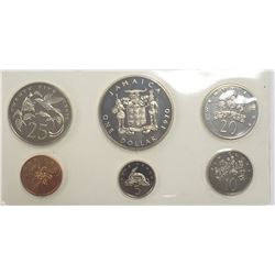 1970 Jamaica Proof Coin Set