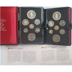 2-CANADA PROOF SETS 1977