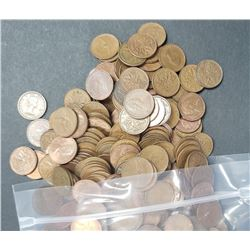 1000 MIX CANADIAN SMALL CENT LOT