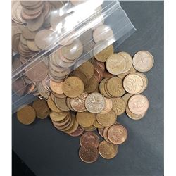 700 MIX CANADIAN SMALL CENT LOT