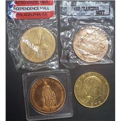 3-U.S. MINT COMMEM COINS