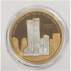 IN MEMORY SEPT 11 2001 TWIN TOWER GOLD PLTD