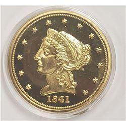 American Mint 1841 $2.50 Gold Coronet