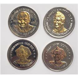 4-Natl Historic Mint Double Eagle 24K