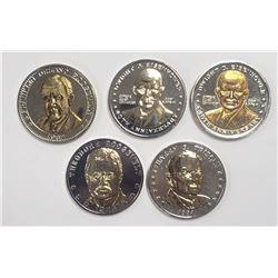 5-Natl Historic Mint Double Eagle 24K