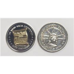 2-Natl Historic Mint Double Eagle(1) 24K
