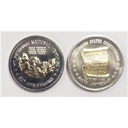 2-Natl Historic Mint Double Eagle 24K