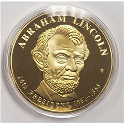 PRESIDENTIAL DOLLAR TRIAL 24k GOLD PLTD