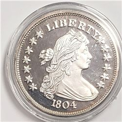 2 ozt .999 SILVER 1804 BUST COPY