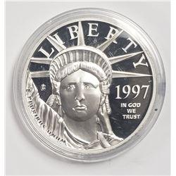 AMERICAN MINT 1997 $100 PLATINUM EAGLE REPLICA