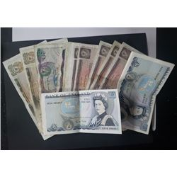18pc BANK of ENGLAND NOTES