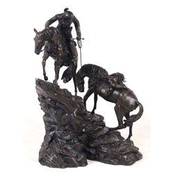 Jim Davidson Western Indian Successful Hunt Statue