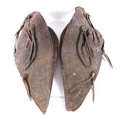 Al Furstnow Tooled Leather Western Tapadero Set