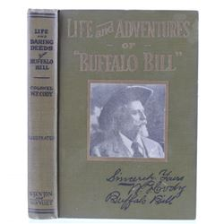 Life and Adventures of Buffalo Bill 1st Ed. 1917