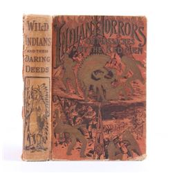 Indian Horrors or Massacres by the Red Men 1890