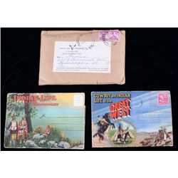 Russell Cowboy & Indian Life in the West Postcards