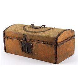 Frontiersman Boston, Wooden Traveling Box c.1806
