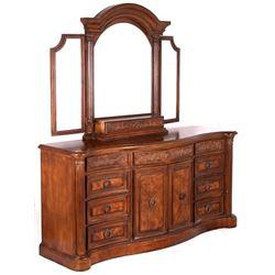 Collezione Europa Regency Style Burl Dresser