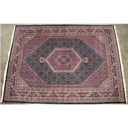 Heriz Serapi Hand Knotted Persian Wool Rug