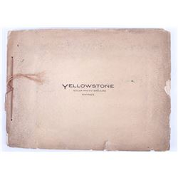 1880's Haynes Yellowstone Photogravure Album