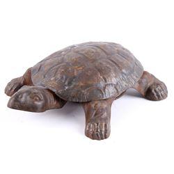 Golden & Jacobson Copper Turtle Spittoon