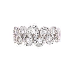 Helzberg Diamond Modern Squiggle 14K Gold Ring