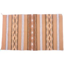 Navajo Wide Ruins Vegetal Rug by Mary Yellowhorse